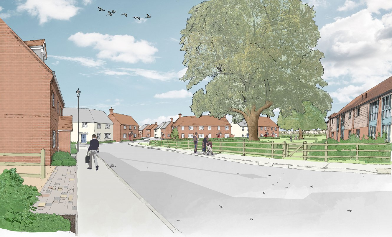 New homes proposed for Upton