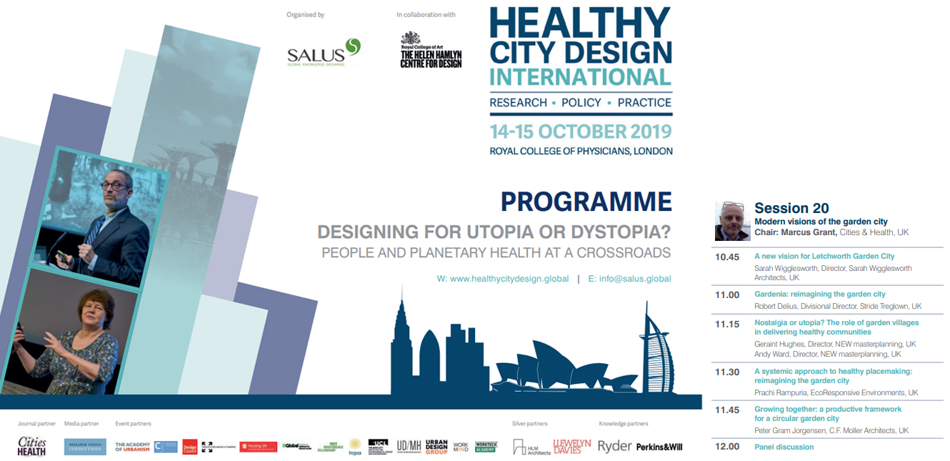 NEW present at the annual Healthy City Design Conference - Oct 2019