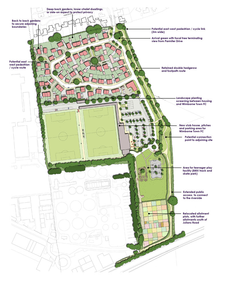Mixed use development approved for Wimborne